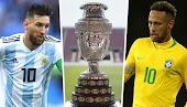 البرازيل ضد الارجنتين نهائي كأس كوبا امريكا 2021