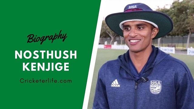 Nosthush Kenjige cricketer Profile, age, height, stats, wife, etc.