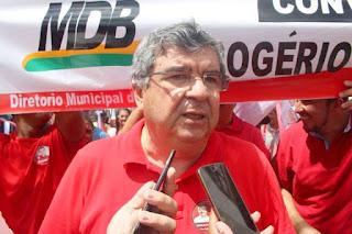 Paulino defende aliança do MDB com Lula e que o partido procure Wilson Santiago e Gervásio