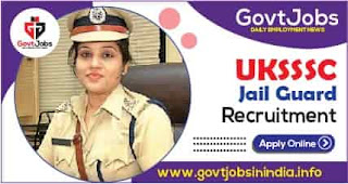 UKSSSC Jail Guard Online Form