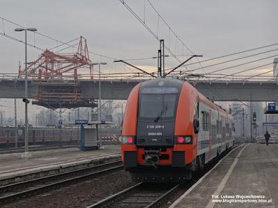 EN64-004, Koleje Małopolskie, Kraków Płaszów