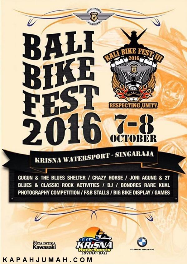 Bali Bike Fest 2016
