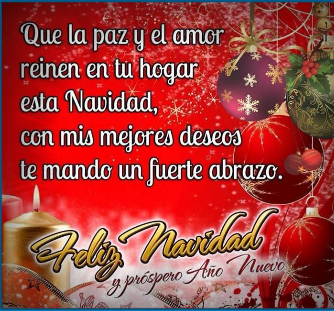 Merry christmas greetings in spanish with quotes spanish christmas christmas greetings in spanish imagenes m4hsunfo