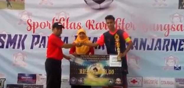 Juara 2 Liga OSIS SMK Panca Bhakti Banjarnegara 2017
