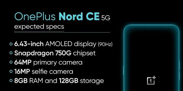 OnePlus Nord CE 5G मूल नॉर्ड की तुलना में पतला है, और हेडफोन जैक के साथ आता है