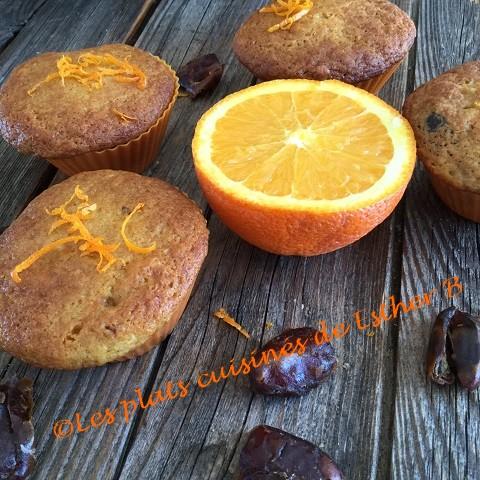 les plats cuisin s de esther b muffins l 39 orange et aux. Black Bedroom Furniture Sets. Home Design Ideas