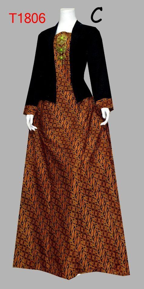 25 Model Baju Batik Kombinasi Brokat Terbaru 2018 2019 Updatemodelbaju