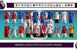 Premier League 2020-2021 Kitpack - PES 2013
