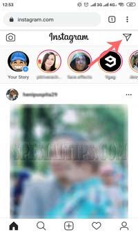 Cara Mengirim Pesan DM Instagram Di Smartphone Android dan iOS Tanpa Aplikasi
