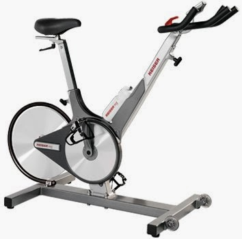 Keiser M3 Indoor Trainer Cycle Bike, review of features, similar to a road bike