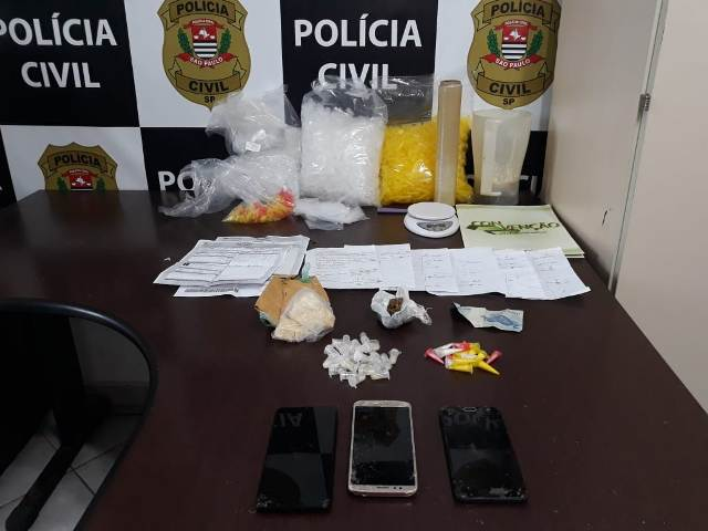 Polícia Civil prende casal com drogas no litoral sul
