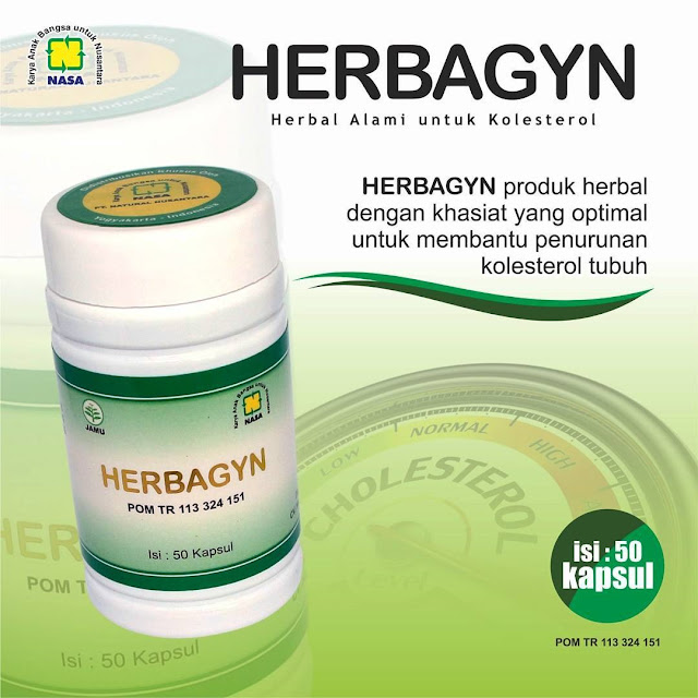 HERBAGYN - Solusi Mengatasi Kolesterol dan Darah Tinggi Secara Herbal