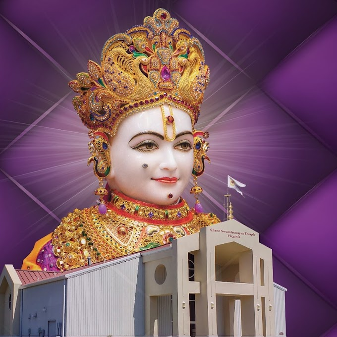 Former Grace Bible Church in Virginia - US is Swaminarayan Hindu Temple now