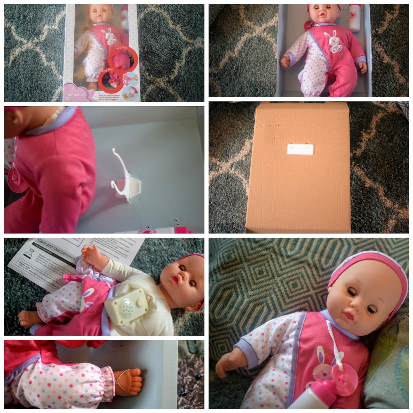 , Chad Valley Babies to Love Lily Interactive Doll #review