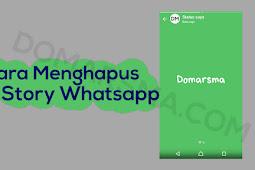Cara Menghapus Story atau Status Whatsapp Sebelum 24 Jam