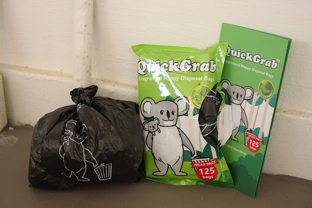 Quick Grab Fragranced Nappy Disposal Bags ' In