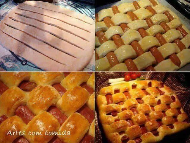 25 Tutorial Cara Membuat Roti Sosej, Pizza, Bun, Pau, Donut ~ Wordless Wednesday