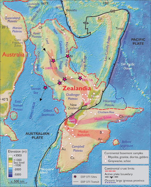 Lost continent of Zealandia: Scientists return from expedition to sunken land