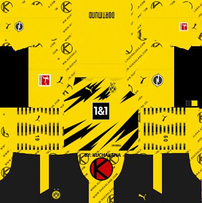 Borussia Dortmund 2020-21 Kit - DLS2019 Kits