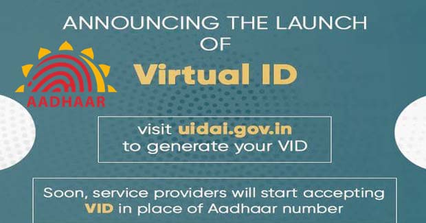 What is Aadhaar Virtual ID and how you can generate one
