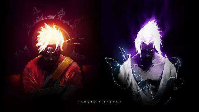 Sasuke dan naruto