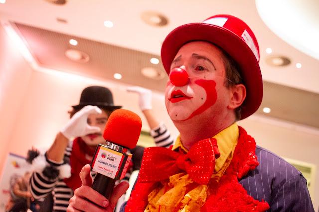Evento de exposição de marca das empresas patrocinadoras com artistas circenses de Humor e Circo em São Paulo