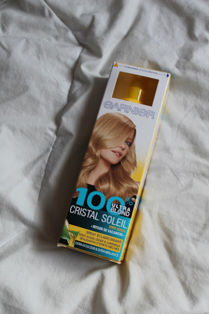 Spray Éclaircissant 100% Ultra Blond Cristal Soleil - Garnier