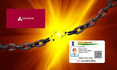 How to Unlink Aadhaar from Axis Bank Account