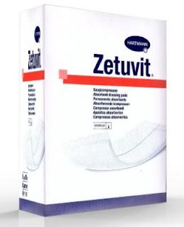 Pansements absorbants stériles pour ulcère de la jambe
