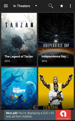 تطبيق أندرويد لمشاهدة الافلام