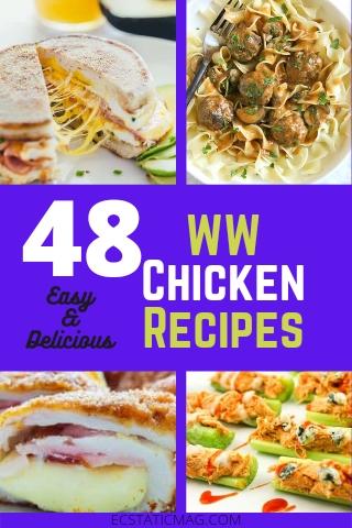 48 Best Weight Watchers Chicken Recipes with Points