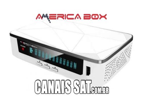 Americabox S205 HD Atualização V2.56 - 07/04/2021