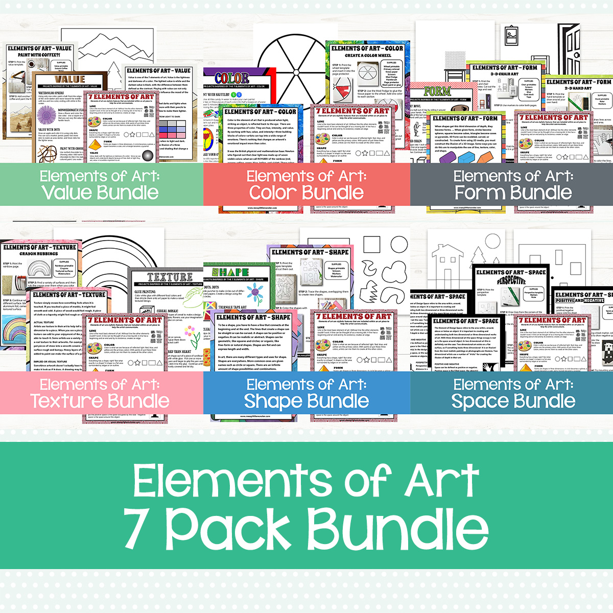 elements of art for kids