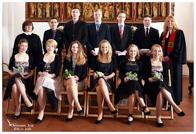 Konfirmation in der St. Michaelis-Kirche Hohenaspe