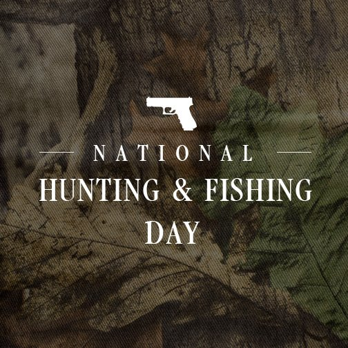 National Hunting and Fishing Day Wishes pics free download
