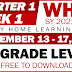 UPDATED! Weekly Home Learning Plan (WHLP) Quarter 1: WEEK 1 (All Grade Levels)