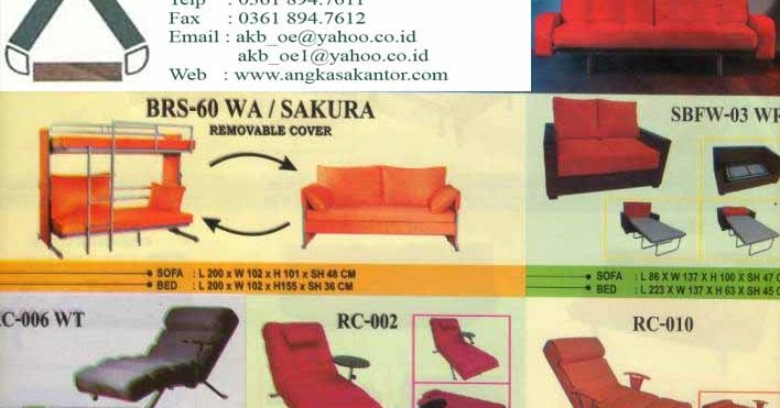 Jual Sofa Bed Murah Di Jakarta Selatan 98 Kensington Leather Urban Home Interior Angkasa Bali Furniture Distributor Kursi Meja Kantor Bekas
