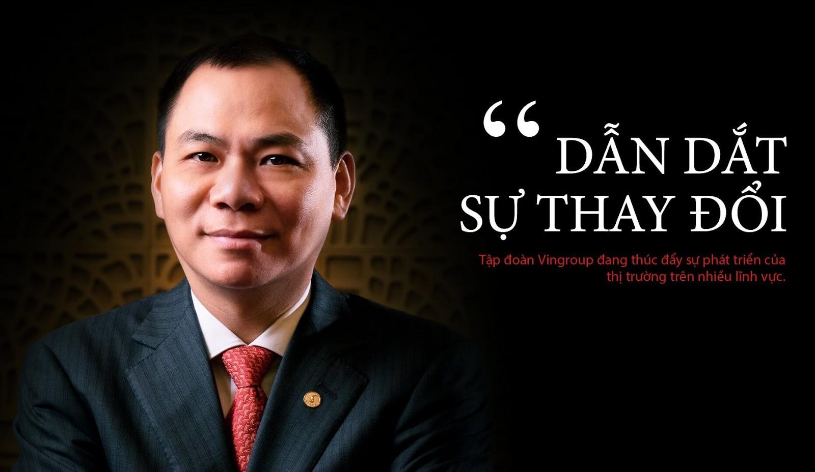 Vingroup tập đoàn kinh tế tư nhân hàng đầu Việt Nam