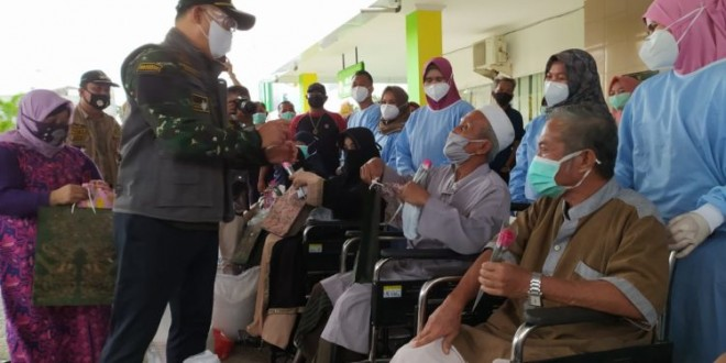 Fasha Memulangkan 7 Pasien Covid-19 Yang Dinyatakan Sembuh, Sisanya Yang Sembuh Masih Dirawat