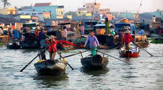 Chợ nổi Cái Răng – Nét văn hóa độc đáo miền sông nước