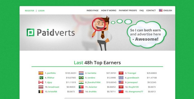 Top 10 trusted and paying PTC sites for 2017: paidverts