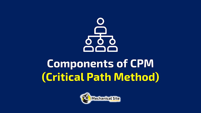 What are the components of Critical Path Method? Project management technique that is used when activity times are deterministic.