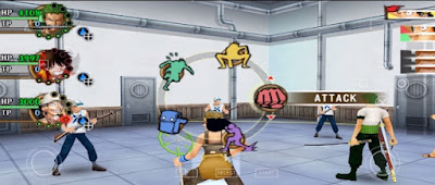 One Piece Burning Blood for Android PPSSPP Offline