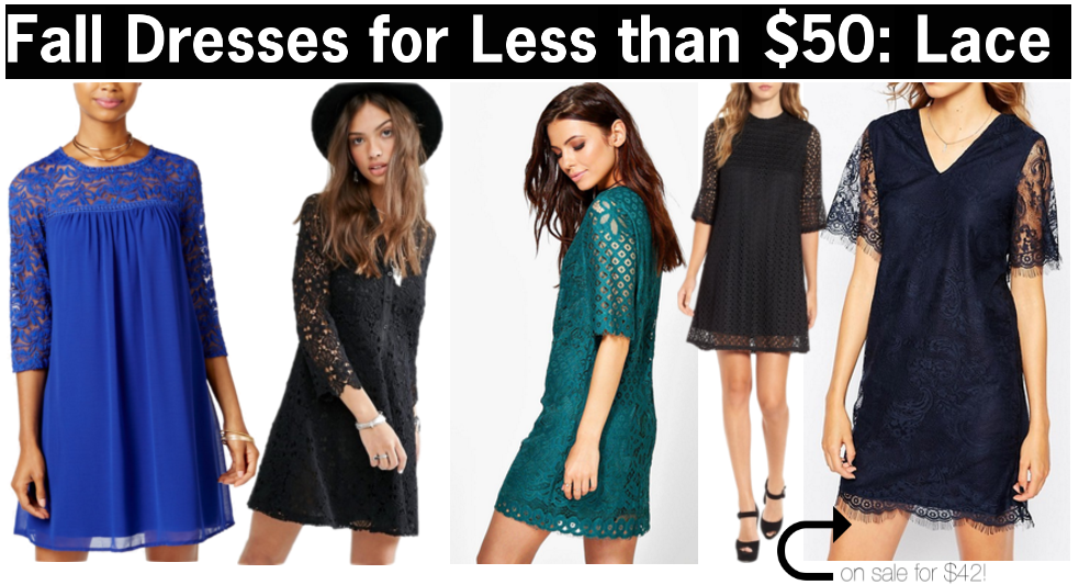 lace dresses for fall for cheap | fall dresses for less than $50 | cute fall dresses with lace | lace dresses for fall | a memory of us