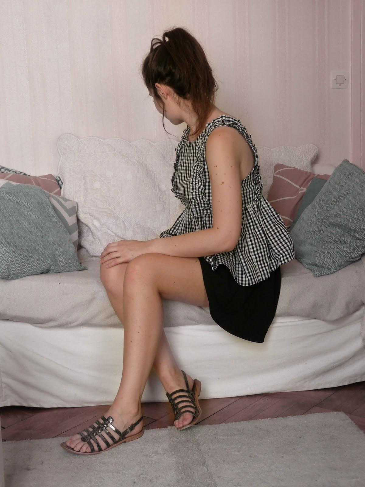Summer 2017 Shopping finds - Zara gingham top