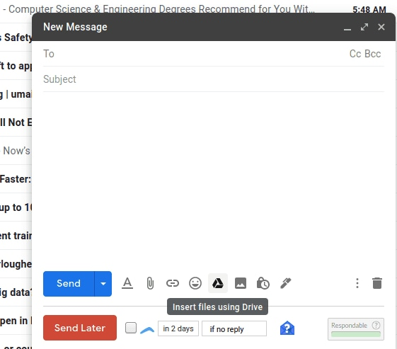 Kirim File Email via Integrasi Google Drive Google