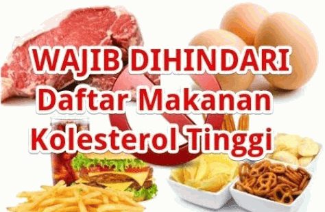 Hati - Hati Makanan Ini Identik Dengan Kolesterol Jahat