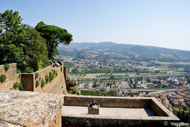 Vista panoramica dalla Rocca di Orvieto