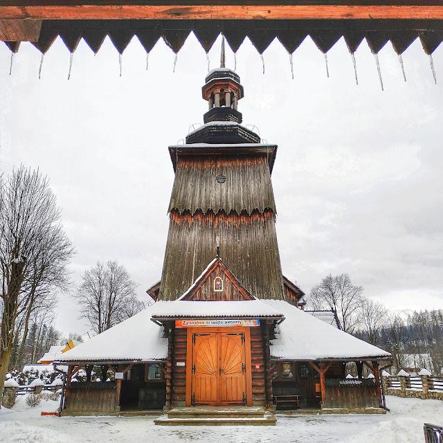 drewniany kościółek w Zakopanym, urokliwe miejsca, Harenda
