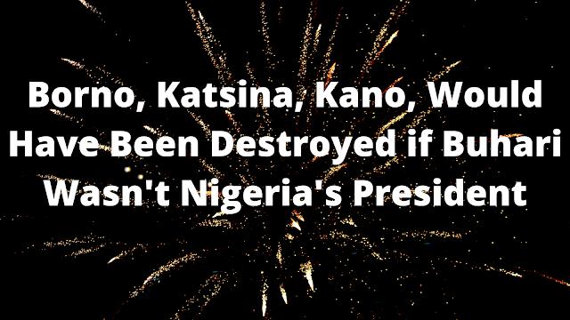 Borno, Katsina, Kano, Would Have Been Destroyed if Buhari Wasn't Nigeria's President
